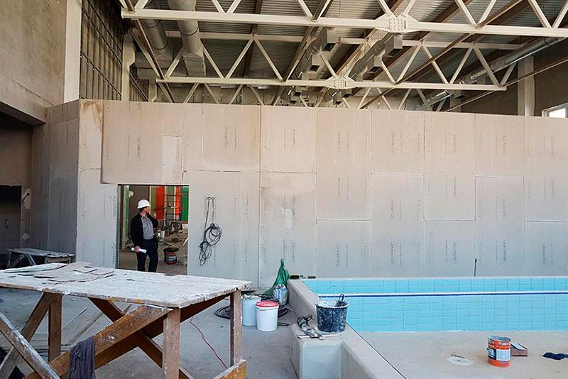 Панно для бассейна