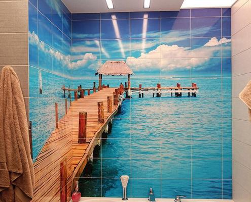 Фотоплитка для ванной