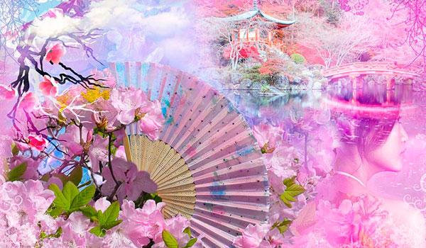 Панно японские мотивы