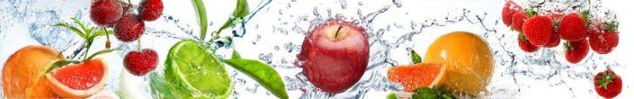 фартук для кухни фрукты