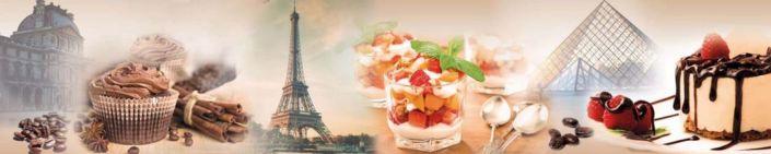фартук для кухни кондитерские десерты Париж