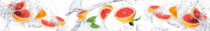 фартук для кухни грейфрут