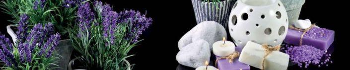 фартук для кухни лаванда свечи соль