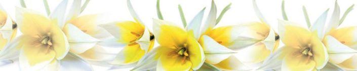 фартук для кухни жёлтый цветок нарциса