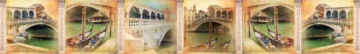 скинали для кухни фрески Венеция