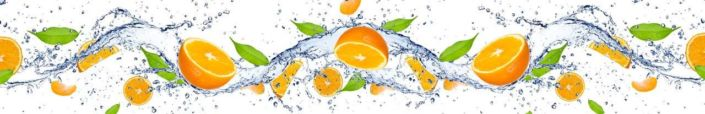 фартук для кухни апельсины