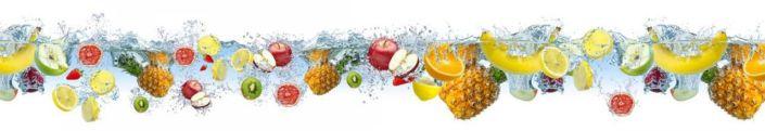 фартук для кухни фрукты тропические