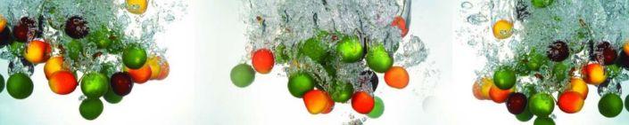 фартук для кухни яблоки в воде