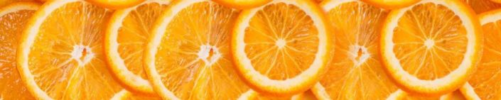 фартук для кухни лимон кружки
