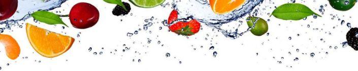 фартук для кухни цитрусы и ягоды