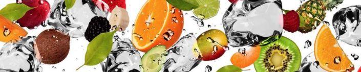 фартук для кухни фрукты ягоды