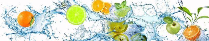 фартук для кухни фрукты и цитрусы