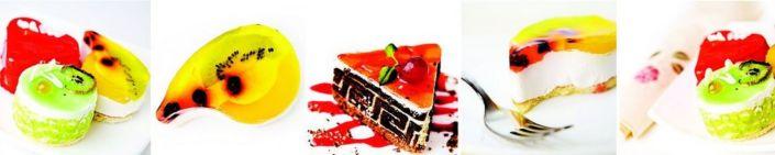 фартук для кухни фруктовые пирожные