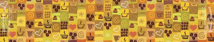 фартук для кухни кофейная тематика