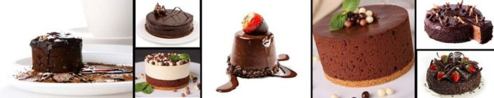 фартук для кухни шоколадные торты