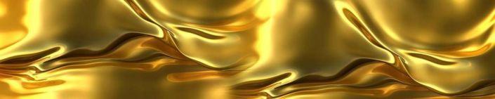 фартук для кухни жидкое золото