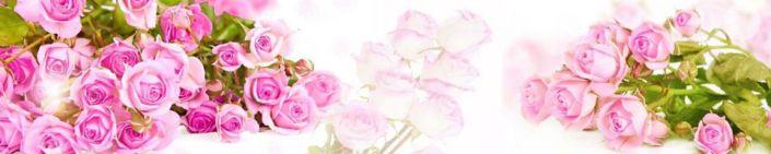 фартук для кухни букеты розовых роз