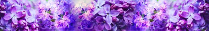 фартук для кухни цветки серени
