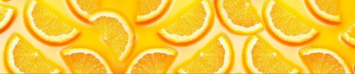 фартук для кухни дольки лимона