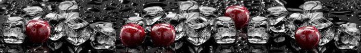 Скинали для кухни вишнёвые ягоды