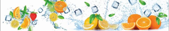 Скинали для кухни апельсины и лимоны