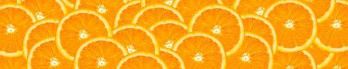 фартук для кухни апелсин в разрезе