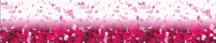 фартук для кухни летящие лепестки роз