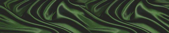 фартук для кухни шёлк зелёный