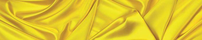 фартук для кухни шёлк жёлтый