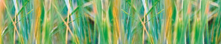 фартук для кухни листья травы
