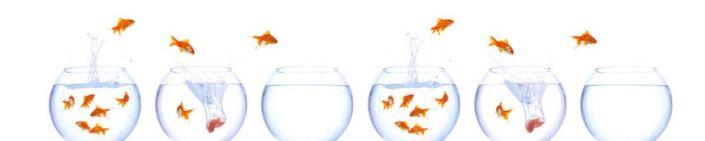 фартук для кухни аквариумы с золотыми рыбками