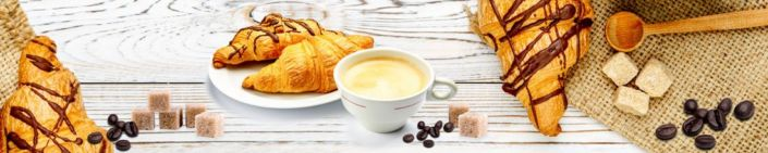 фартук для кухни кроусан и кофе