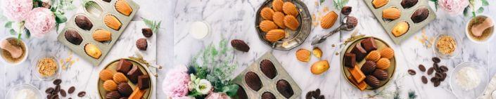 фартук для кухни кексы и шоколад
