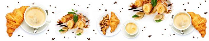фартук для кухни кофе и кроусан