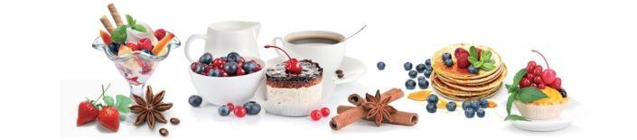фартук для кухни десерты к кофе