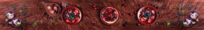 фартук для кухни ягодные десерты