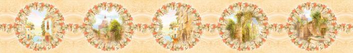 фартук для кухни коллаж из картин фрески