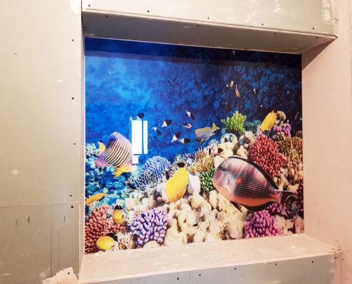 панно подводный мир